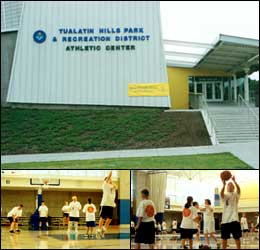 Views of Tualatin Hills Athletic Center